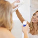 Como limpar e conservar seu espelho?